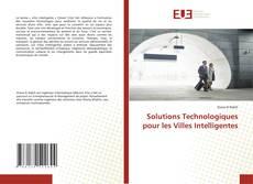 Solutions Technologiques pour les Villes Intelligentes的封面