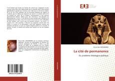 Bookcover of La cité de permanence