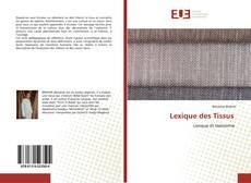 Lexique des Tissus kitap kapağı