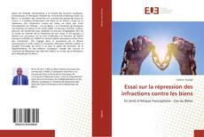 Essai sur la répression des infractions contre les biens kitap kapağı