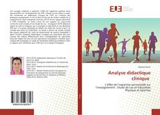 Bookcover of Analyse didactique clinique