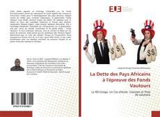 Capa do livro de La Dette des Pays Africains à l'épreuve des Fonds Vautours