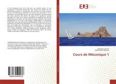 Cours de Mécanique 1 kitap kapağı