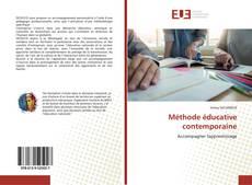 Couverture de Méthode éducative contemporaine