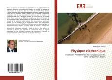 Bookcover of Physique électronique