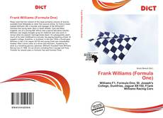 Bookcover of Frank Williams (Formula One)