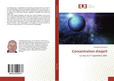 Bookcover of Concentration d'esprit