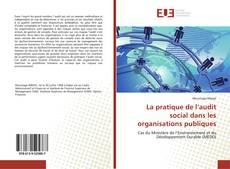 Capa do livro de La pratique de l'audit social dans les organisations publiques