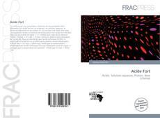 Buchcover von Acide Fort