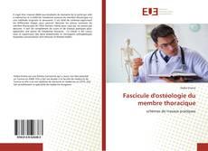 Couverture de Fascicule d'ostéologie du membre thoracique