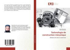 Technologie de construction mécanique kitap kapağı