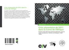 Portada del libro de Crise alimentaire de 2011 dans la Corne de l'Afrique