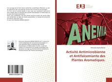 Portada del libro de Activité Antimicrobienne et Antifalcemiante des Plantes Aromatiques.