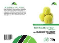 1997 Meta Styrian Open – Doubles的封面