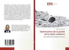 Copertina di Optimisation de la portée de la voûte nubienne