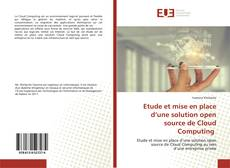Bookcover of Etude et mise en place d'une solution open source de Cloud Computing