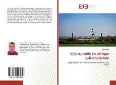 Couverture de Ville durable en Afrique subsaharienne