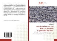Portada del libro de Identification des sels dans les horizons superficiels des sols