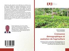 Portada del libro de Croissance demographique et evolution de l'agriculture