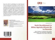 Capa do livro de Sortir Durablement Le Milieu Agricole Africain De La Pauvrete