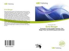 Erna Berger kitap kapağı