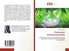 Обложка Évaluation Environnementale