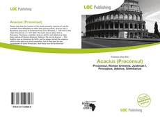 Bookcover of Acacius (Proconsul)
