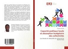 Capacité publique locale et absorption budgétaire des collectivités kitap kapağı