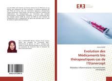 Borítókép a  Evolution des Médicaments bio thérapeutiques cas de l'Etanercept - hoz
