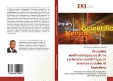 Capa do livro de Procédés méthodologiques d'une recherche scientifique en sciences sociales et humaines