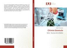 Bookcover of Chimie Générale