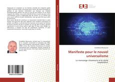 Capa do livro de Manifeste pour le nouvel universalisme