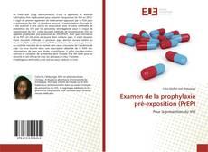Examen de la prophylaxie pré-exposition (PrEP) kitap kapağı
