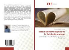Capa do livro de Statut épistémologique de la théologie pratique