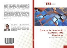 Capa do livro de Étude sur la Structure du Capital des PME Algériennes