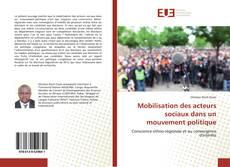 Обложка Mobilisation des acteurs sociaux dans un mouvement politique