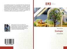 Écologie kitap kapağı