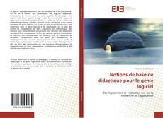Bookcover of Notions de base de didactique pour le génie logiciel