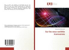 Capa do livro de Sur les sous variétés transverses