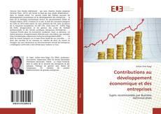 Couverture de Contributions au développement économique et des entreprises