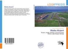 Bookcover of Akobo Airport