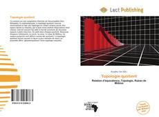 Buchcover von Topologie quotient