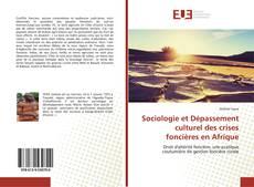Bookcover of Sociologie et Dépassement culturel des crises foncières en Afrique