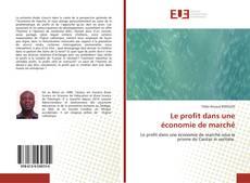Buchcover von Le profit dans une économie de marché