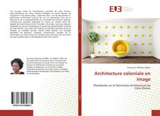 Architecture coloniale en image kitap kapağı