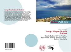 Bookcover of Lango People (South Sudan)