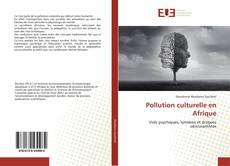 Copertina di Pollution culturelle en Afrique