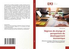 Portada del libro de Régimes de change et perspectives du développement économique