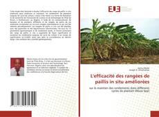 Portada del libro de L'efficacité des rangées de paillis in situ améliorées