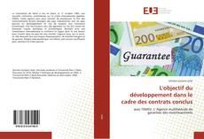 L'objectif du développement dans le cadre des contrats conclus kitap kapağı